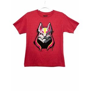 Fortnite Short Sleeve T-Shirt Red Size XL